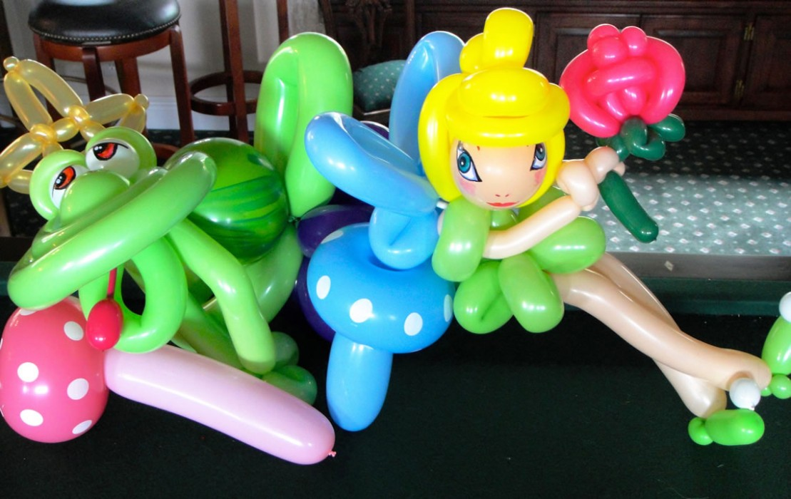balloon art twisting 105