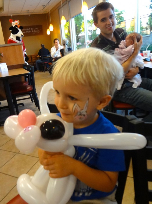 balloon art twisting 107