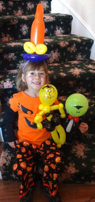 balloon art twisting 114