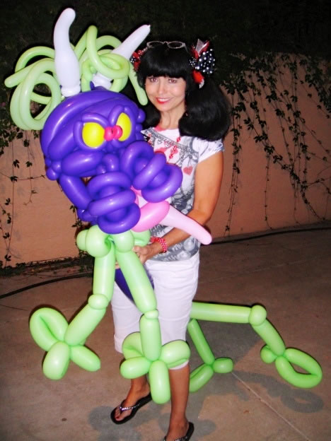 balloon art twisting 135