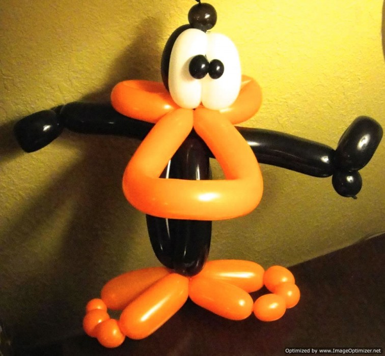 balloon art twisting 153