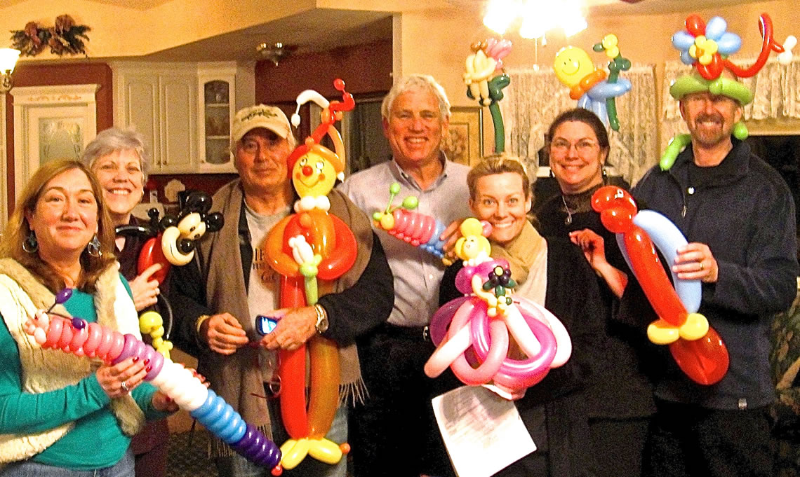 balloon art twisting 156
