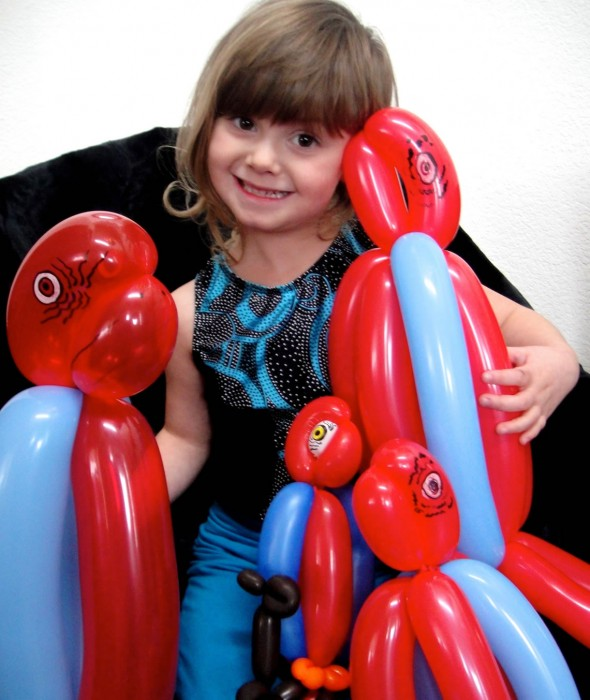 balloon art twisting 159