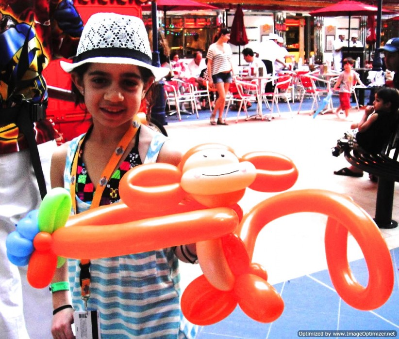 balloon art twisting 167