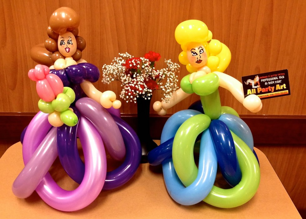 balloon art twisting 192