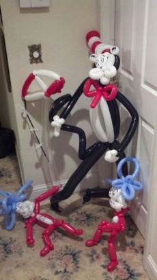 balloon art twisting 40