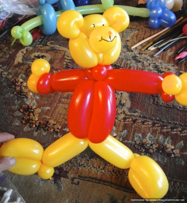 balloon art twisting 50