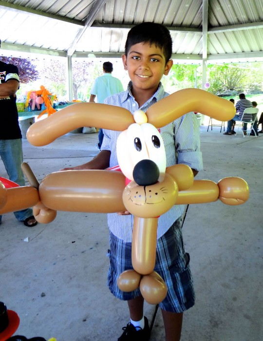 balloon art twisting 66