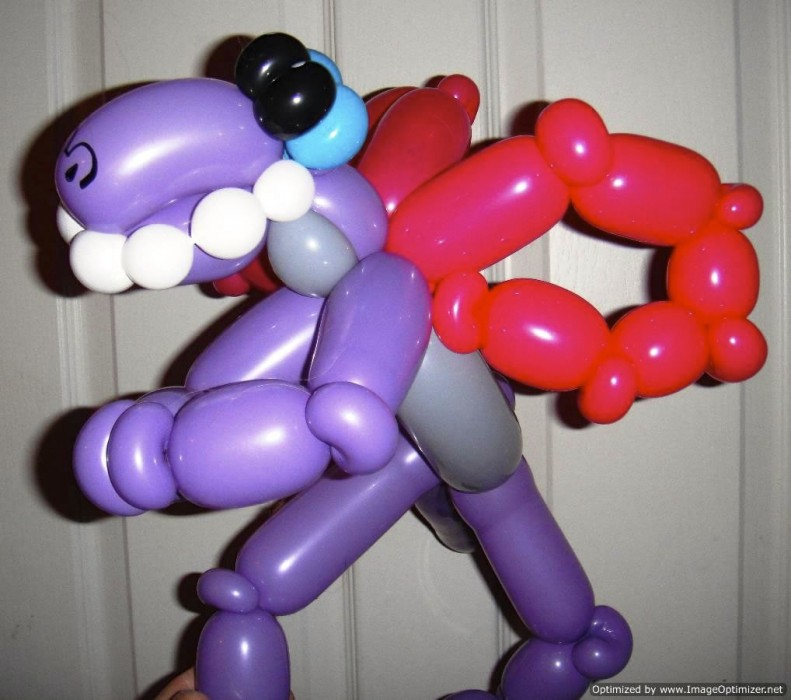 balloon art twisting 76