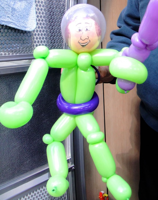 balloon art twisting 82