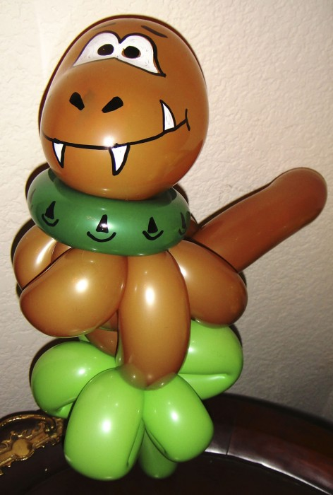 balloon art twisting 92
