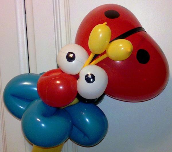 balloon ladybug