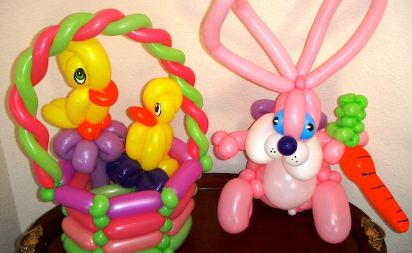 balloons easter
