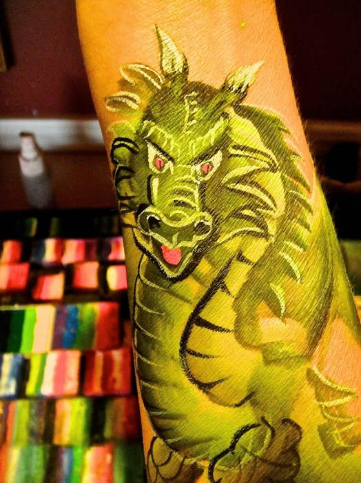 body art rock 77