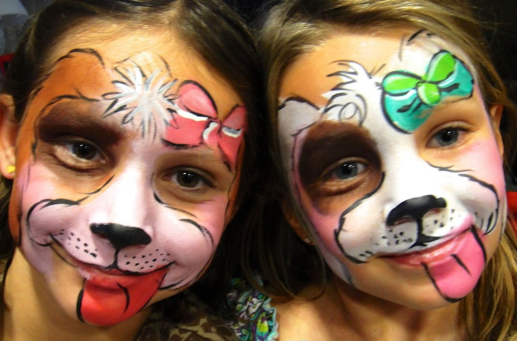 face painting animals 100