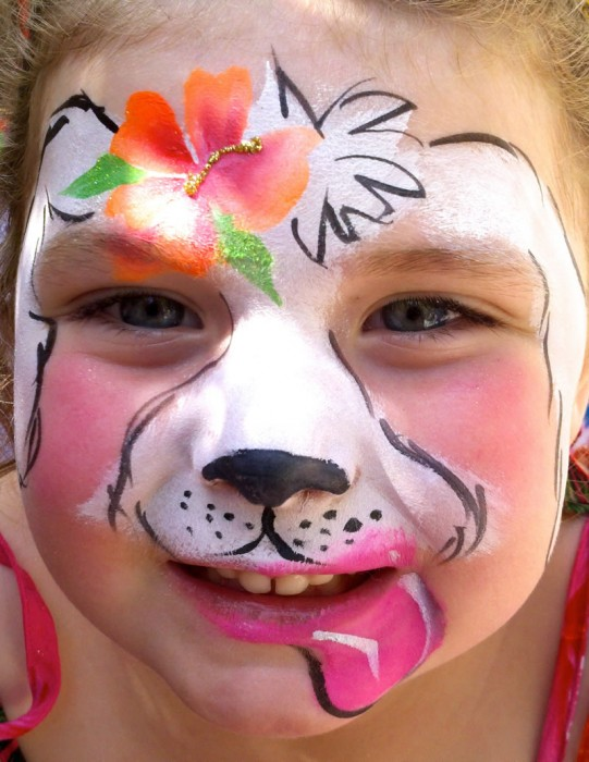 face painting animals 15