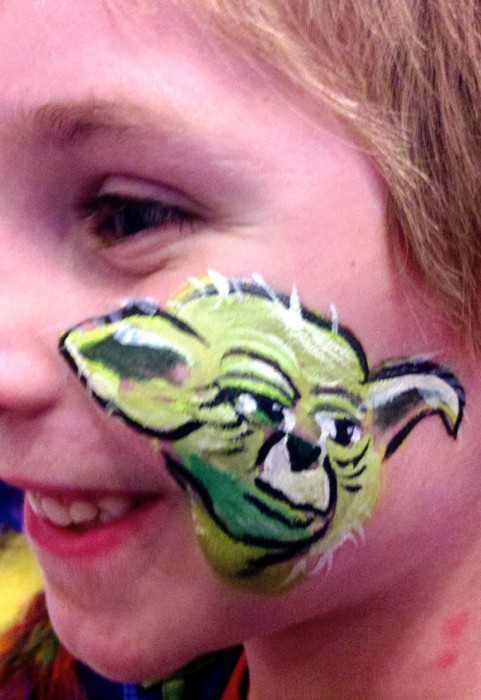 face painting animals 16
