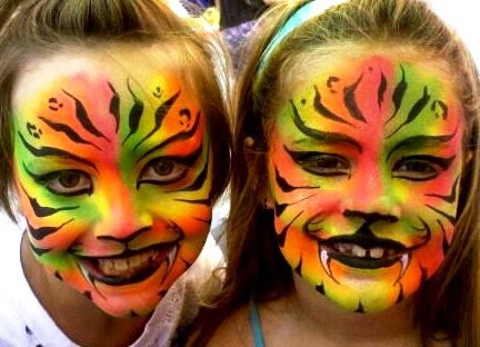 face painting animals 24