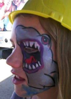 face painting animals 29