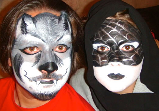 face painting animals 31