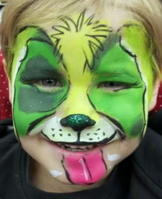 face painting animals 32