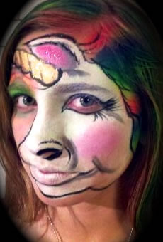 face painting animals 37