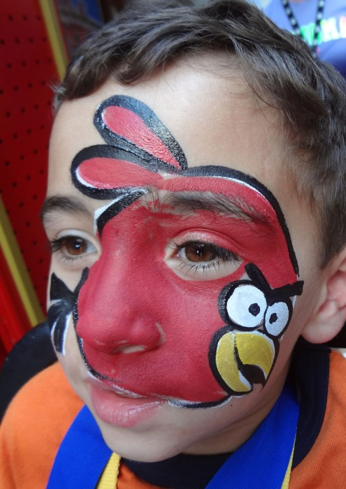 face painting animals 40