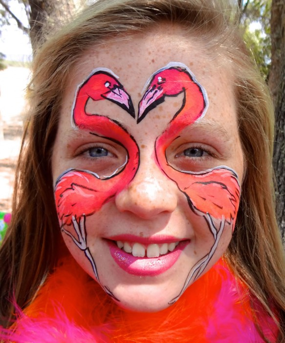 face painting animals 49