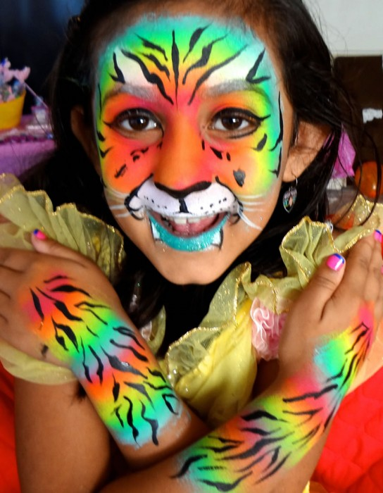 face painting animals 50