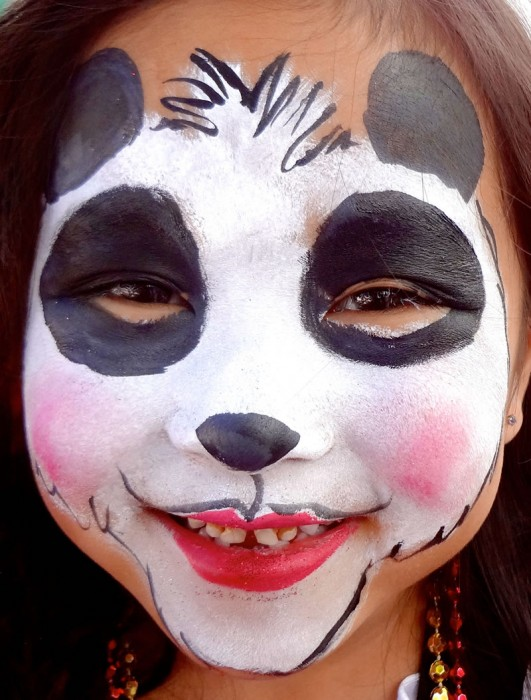 face painting animals 51
