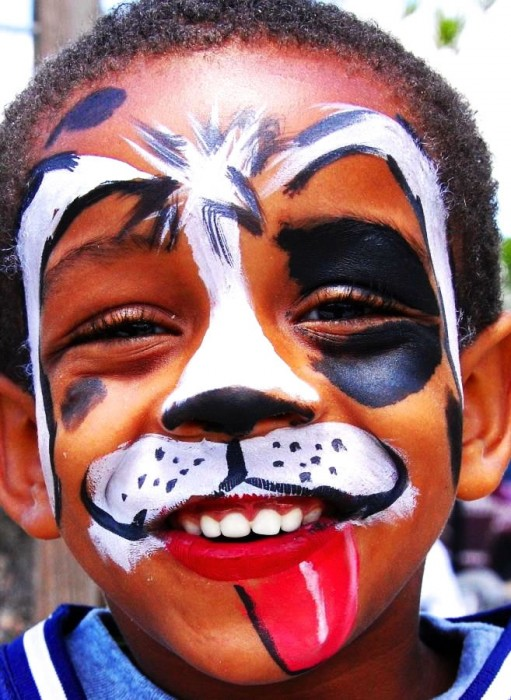 face painting animals