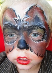 face painting animals 53