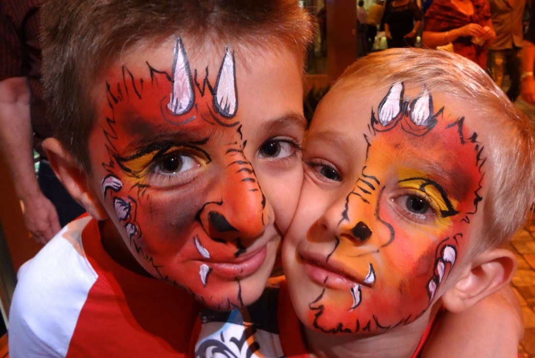 face painting animals 58