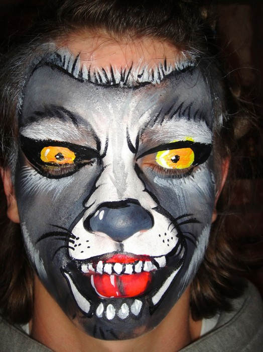face painting animals 61