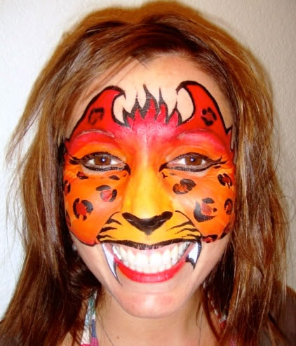 face painting animals 62