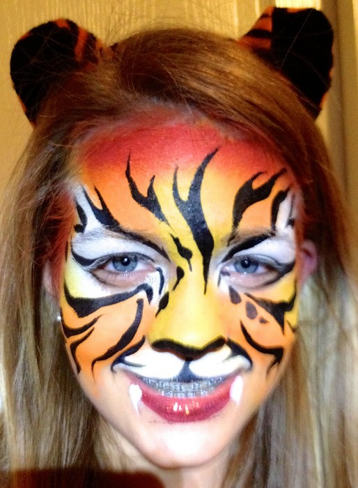 face painting animals 89