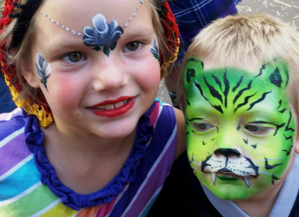 face painting animals 9