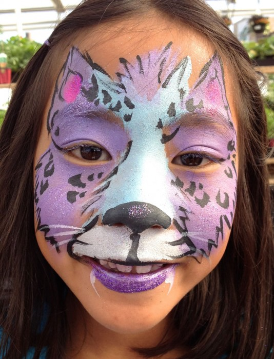 face painting animals 90