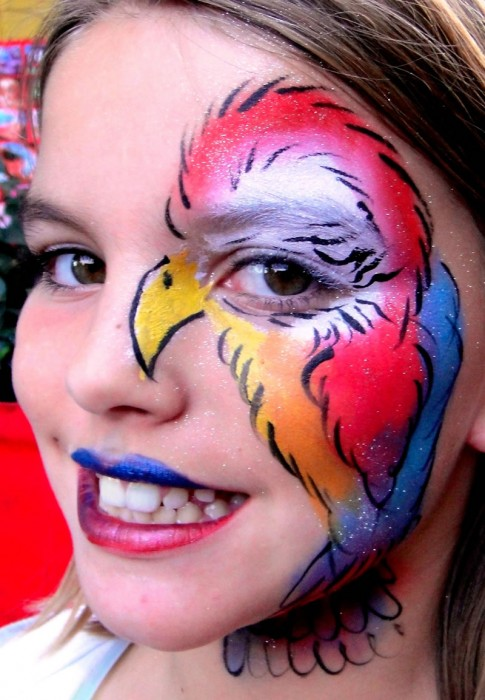 face painting animals 97