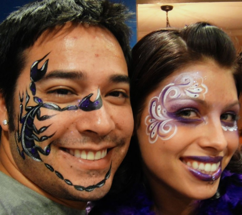 face painting animals 99
