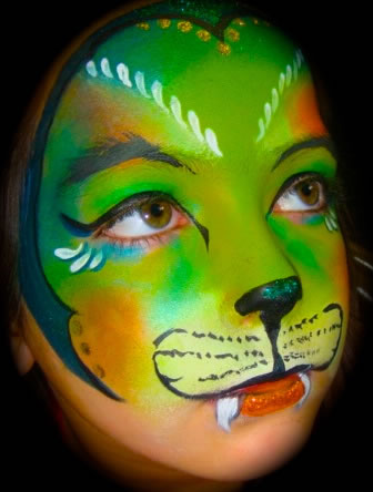 face painting blacklight 4