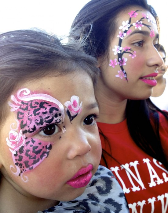face painting butterflies flowers 102