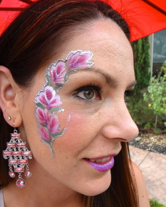 face painting butterflies flowers 23