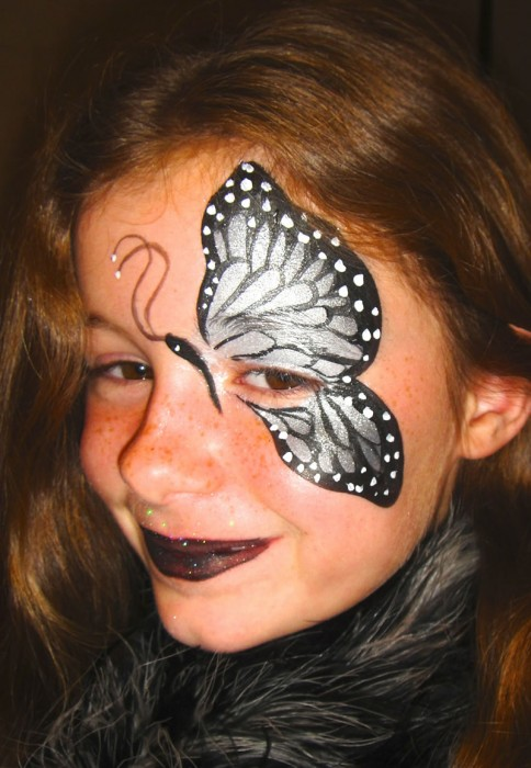 face painting butterflies flowers 31