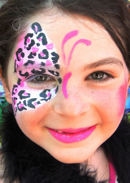 face painting butterflies flowers 32