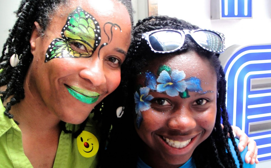 face painting butterflies flowers 34