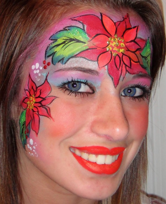 face painting butterflies flowers 42