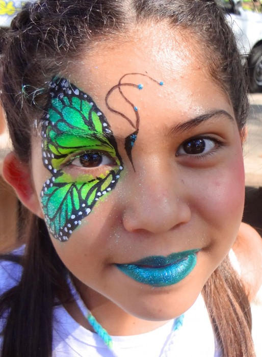 face painting butterflies flowers 47