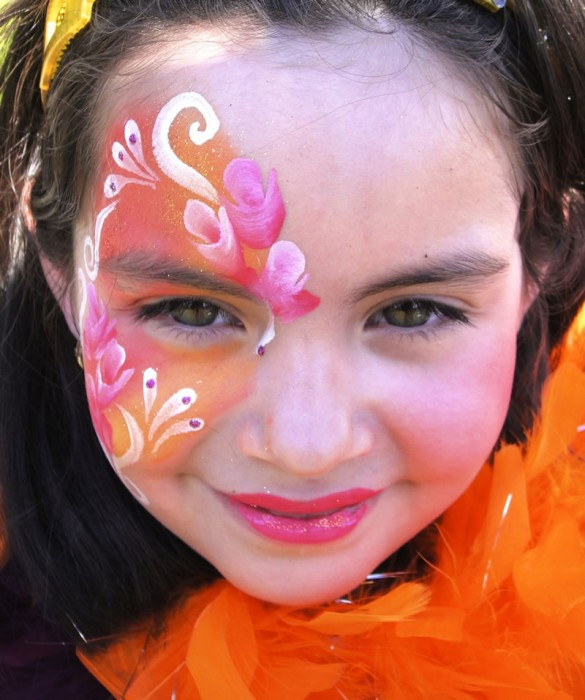face painting butterflies flowers 51