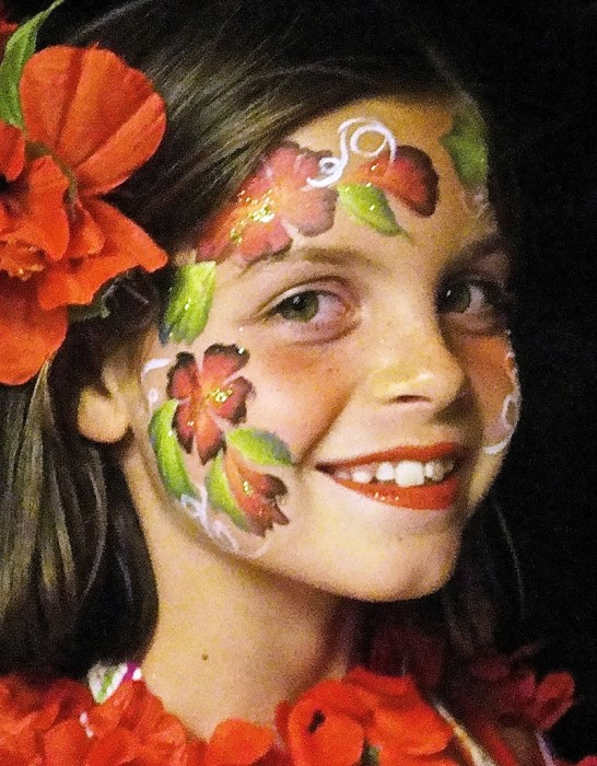face painting butterflies flowers 54